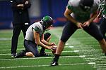 SAN ANTONIO, TX - NOVEMBER 24: University of North Texas Mean Green Football v University Texas San Antonino at Alamo Dome in San Antonino on November 24, 2018 in San Antonino, Texas