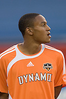 Ricardo Clark. The New England Revolution tied the Houston Dynamo, 1-1, on May 27 at Gillette Stadium.