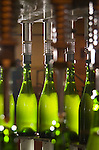 Sparkling wine filled