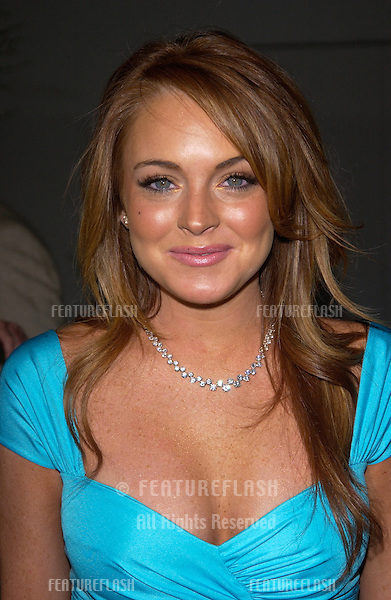 Actress LINDSAY LOHAN at the world premiere, in Hollywood, of her new movie Mean Girls..April 19, 2004