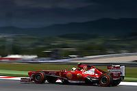 MONTMELO, ESPANHA, 10 DE MAIO DE 2013 - O piloto brasileiro da Ferrari, Felipe Massa, durante treino para o GP da Espanha de Fórmula 1 no circuito da Catalunha, em Montmelo, perto de Barcelona, Espanha, nesta sexta-feira, 10. FOTO: PIXATHLON / BRAZIL PHOTO PRESS.