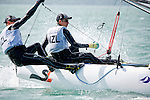 New ZealandSirena SL16OpenCrewNZLWM4WilliamMckenzie<br /> New ZealandSirena SL16OpenHelmNZLTL4TamrynLindsay<br /> Day4, 2015 Youth Sailing World Championships,<br /> Langkawi, Malaysia