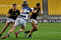 Wellington&rsquo;s Malo Tuitama in action during the Mitre 10 Cup - Wellington v Auckland at Westpac Stadium, Wellington, New Zealand on Thursday 4 October 2018. <br /> Photo by Masanori Udagawa. <br /> www.photowellington.photoshelter.com
