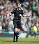 Willie Collum after Kenny Miller penalty claim