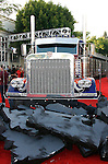"WESTWOOD, CA. - June 22: Optimus Prime Truck at the 2009 Los Angeles Film Festival - The Los Angeles Premiere of ""Transformers: Revenge of the Fallen"" at Mann's Village Theater on June 22, 2009 in Los Angeles, California."
