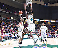 Iona defeats Siena 77-66 in a MAAC conference game on January 27, 2017 at the Times Union Center in Albany, New York.  (Bob Mayberger/Eclipse Sportswire)