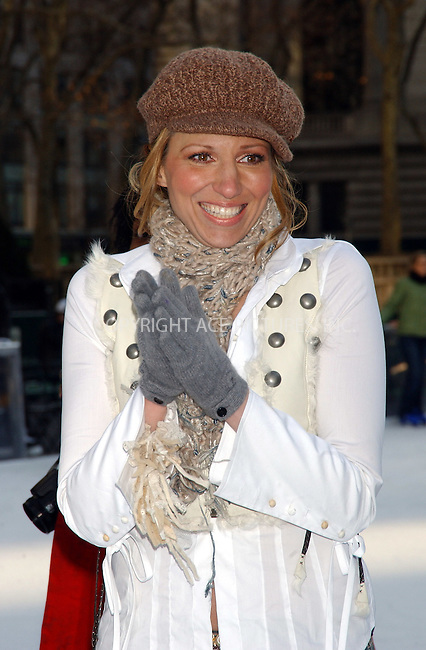 WWW.ACEPIXS.COM . . . . . ....NEW YORK, JANUARY 10 2006....Deborah Gibson 'Skating With Celebrities' at Bryant Park. ....Please byline: KRISTIN CALLAHAN - ACEPIXS.COM.. . . . . . ..Ace Pictures, Inc:  ..Philip Vaughan (212) 243-8787 or (646) 679 0430..e-mail: info@acepixs.com..web: http://www.acepixs.com