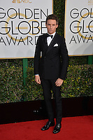 Eddie Redmayne at the 74th Golden Globe Awards  at The Beverly Hilton Hotel, Los Angeles USA 8th January  2017<br /> Picture: Paul Smith/Featureflash/SilverHub 0208 004 5359 sales@silverhubmedia.com