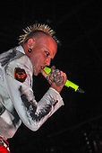 THE PRODIGY - Keith Flint - performing live at the Ffete de l'Humanite Parc Georges-Valbon La Courneuve France - 10 Sep  2010.  Photo credit: Didier Rivet/Dalle/IconicPix