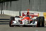 31 August 2007: Helio Castroneves  (BRA) at the Detroit Belle Isle Grand Prix, Detroit, Michigan.