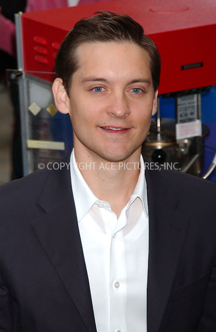 WWW.ACEPIXS.COM . . . . .....April 30, 2007. New York City.....Actor Tobey Maguire appears on 'The Today Show' to promote Spiderman 3.  ....Please byline: Kristin Callahan - ACEPIXS.COM..... *** ***..Ace Pictures, Inc:  ..Philip Vaughan (646) 769 0430..e-mail: info@acepixs.com..web: http://www.acepixs.com