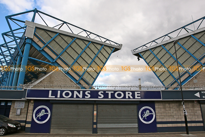 General view outside the ground during Millwall Lionesses vs Sheffield FC Ladies, FA Women's Super League FA WSL2 Football at The Den on 9th October 2016