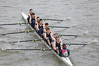 Crew: 258   Liverpool John Moores University     <br /> <br /> Eights Head of the River (HoRR) 2018<br /> <br /> To purchase this photo, or to see pricing information for Prints and Downloads, click the blue 'Add to Cart' button at the top-right of the page.