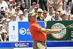 Miguel Angel Jimenez (ESP) on the 1st tee.on day one of the Alstom Open de France, Golf National Saint-Quentin-en-Yvelines, Paris. 30/6/11.Picture Fran Caffrey/www.golffile.ie