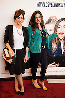"Ana Morgade and Llum Barrera attends to the premiere of the theater play ""Los Vecinos de Arriba"" of the director Cesc Gayt at Teatro La Latina in Madrid. April 13, 2016. (ALTERPHOTOS/Borja B.Hojas)"