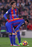 19.02.2017 Barcelona. La liga game 23. Picture show Leo Messi and Neymar in action during game between FC Barcelona against Leganes at Camp Nou