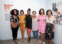 Opening reception for Breaking Bread in L.A., connecting communities and cultures through food, Sept. 12, 2019 at the Oxy Arts on York building.<br />