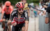 Thomas de Gendt (BEL/Lotto-Soudal) post-race<br /> <br /> Stage 1: Clermont-Ferrand to Saint-Christo-en-Jarez (218km)<br /> 72st Critérium du Dauphiné 2020 (2.UWT)<br /> <br /> ©kramon