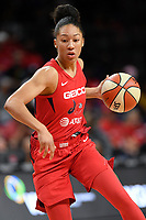 Washington, DC - August 25, 2019: Washington Mystics forward Aerial Powers (23) during second half action of game between the New York Liberty and the Washington Mystics at the Entertainment and Sports Arena in Washington, DC. The Mystics defeated New York 101-72. (Photo by Phil Peters/Media Images International)