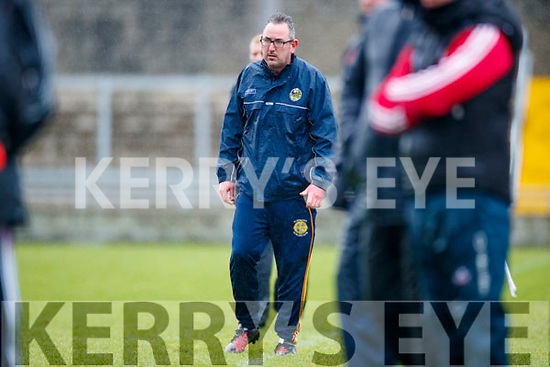 Kerry manager Fintan O'Connor v  Cork in the Co-op Superstores Munster Senior Hurling League on Sunday 14th January in Austin Stack Park, Tralee.