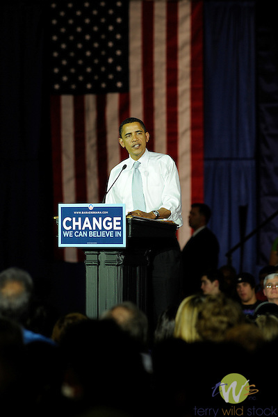 Barrack Hussein Obama, Lycoming College, Williamsport, PA.