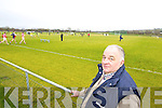 Sean Kelly groundsman John Mitchells Grounds on Sunday.