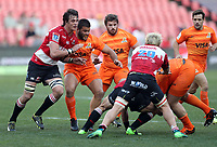 General views during the Super Rugby quarter-final match between the Emirates Lions and the Jaguares at the Emirates Airlines Park Stadium,Johannesburg, South Africa on Saturday, 21 July 2018. Photo: Steve Haag / stevehaagsports.com