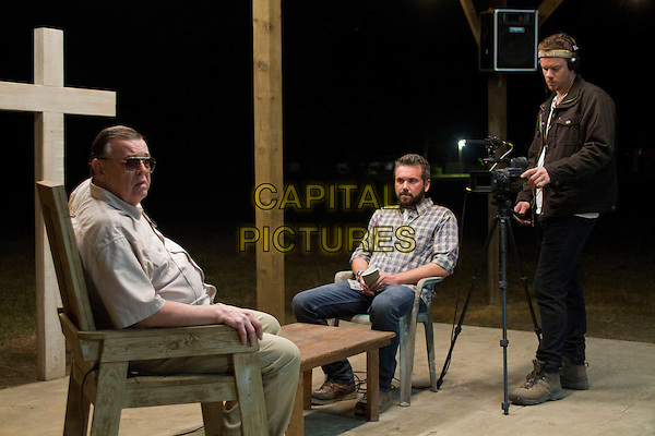 Gene Jones, AJ Bowen, Joe Swanberg <br /> in The Sacrament (2013) <br /> *Filmstill - Editorial Use Only*<br /> CAP/FB<br /> Image supplied by Capital Pictures
