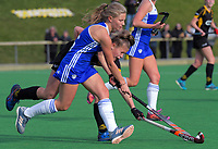 Capital v Auckland women. 2019 National Hockey Under-18 Tournament at National Hockey Stadium in Wellington, New Zealand on Friday, 12 July 2019. Photo: Dave Lintott / lintottphoto.co.nz