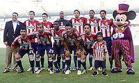 CD Chivas USA starting eleven. The Kansas City Wizards defeated CD Chivas USA 2-0 at Home Depot Center stadium in Carson, California on Sunday September 19, 2010.