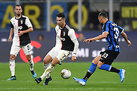 Cristiano Ronaldo of Juventus , Danilo D'Ambrosio of FC Internazionale <br /> Milano 6-10-2019 Stadio Giuseppe Meazza <br /> Football Serie A 2019/2020 <br /> FC Internazionale - Juventus FC <br /> Photo Andrea Staccioli / Insidefoto