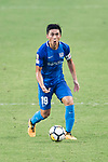 SC Kitchee Midfielder Yang Huang in action during the week three Premier League match between Hong Kong Pegasus and Kitchee at Hong Kong Stadium on September 17, 2017 in Hong Kong, China. Photo by Marcio Rodrigo Machado / Power Sport Images