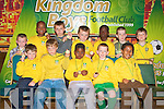 AWARDS: The Kingdom Boys U7's team enjoying their awards ceremony at the Brandon Hotel on Saturday.