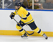 Fraser Allen (Merrimack - 2) - The University of Notre Dame Fighting Irish defeated the Merrimack College Warriors 4-3 in overtime in their NCAA Northeast Regional Semi-Final on Saturday, March 26, 2011, at Verizon Wireless Arena in Manchester, New Hampshire.