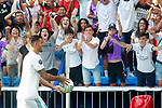Real Madrid's new player Theo Hernandez with the supporters during his official presentation. July 10, 2017. (ALTERPHOTOS/Acero)