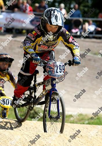 2008-08-15 / BMX / Ravels / Boys - Girls 11 / Scott Neefs..Foto: Maarten Straetemans (SMB)