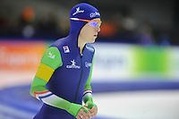 SCHAATSEN: HEERENVEEN: 12-14 dec.2014, IJsstadion Thialf, ISU World Cup Speedskating, Ireen Wüst, ©foto Martin de Jong
