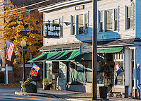 Small town America, Bridgton, New Hampshire, USA.