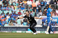 Trent Boult (New Zealand) appeals for LBW during India vs New Zealand, ICC World Cup Warm-Up Match Cricket at the Kia Oval on 25th May 2019