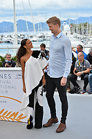 """Thandie Newton & Joonas Suotamo at the photocall for """"Solo: A Star Wars Story"""" at the 71st Festival de Cannes, Cannes, France 15 May 2018<br /> Picture: Paul Smith/Featureflash/SilverHub 0208 004 5359 sales@silverhubmedia.com"""