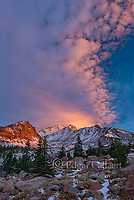Sunrise, Panther Meadow, Mount Shasta, Shasta-Trinity National Forest, California