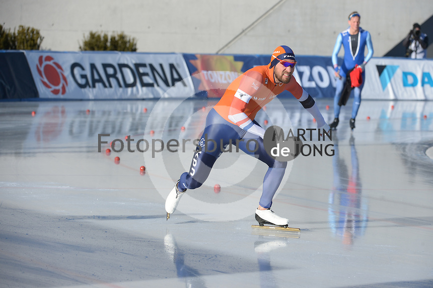 SPEED SKATING: COLLALBO: Arena Ritten, 11-01-2019, ISU European Speed Skating Championships, Kjeld Nuis (NED), ©photo Martin de Jong