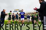 Kerry in action against  Mayo in the first round of the National Football League at Fitzgerald Stadium Killarney on Sunday.