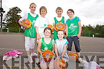 At the team Kerry Basketball camp at Mounthawk School on Thursday were: Leah O'Neill, Tim Pollmann-Daamen, Kirby Ann Dwyer, Katie O'Connor, Jack Tobin, Katelyn Peer.