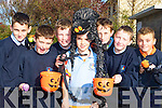 Pupils from Castleisland Boys National School who celebrated Halloween in the school on Friday l-r: Cian Fagan, Neil Brosnan, Ronan O'Shea, Padraig O'Connell, Mark Reidy, Tomas McNally and Jamie Maunsell   Copyright Kerry's Eye 2008