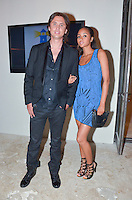 Jonathan Cheban and Catherine Portes attend  2013 Hearts & Stars Gala at Tierra Veritatis, Miami Beach, FL, March 9, 2013