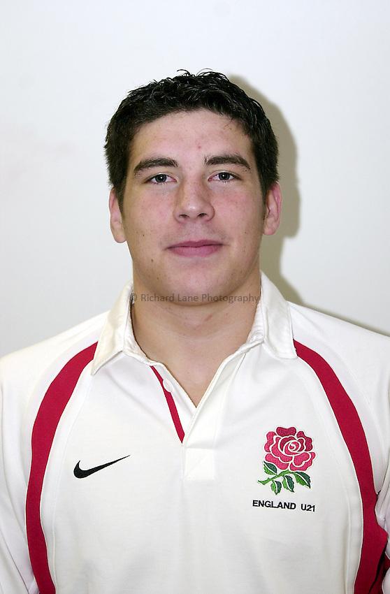 England Under 21's..Photo. Richard Lane..14-2-2002.John Holtby.