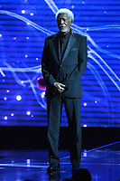 MOUNTAIN VIEW, CA - DECEMBER 3: Morgan Freeman hosts the 6th Annual Breakthrough Prize at NASA Ames Research Center on December 3, 2017 in Mountain View, California. (Photo by Frank Micelotta/NatGeo/PictureGroup)