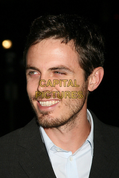 "CASEY AFFLECK.Los Angeles Premiere of ""The Last Kiss"", West Hollywood, California, USA..September 13th, 2006.Ref: ADM/BP.headshot portrait stubble facial hair.www.capitalpictures.com.sales@capitalpictures.com.©Byron Purvis/AdMedia/Capital Pictures."
