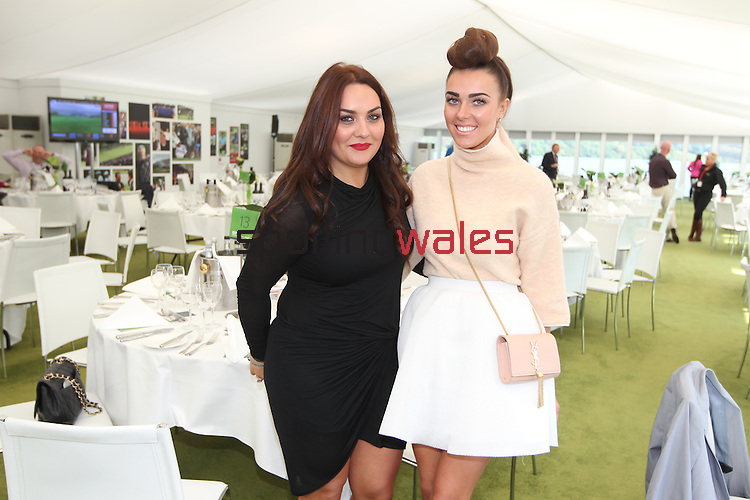 ISPS Handa Wales Open<br /> Michelle Marshall & Tara Maynard<br /> Celtic Manor Resort<br /> 21.09.14<br /> ©Steve Pope-SPORTINGWALES